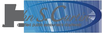 John S. Curtin CPA Chartered Sticky Logo Retina
